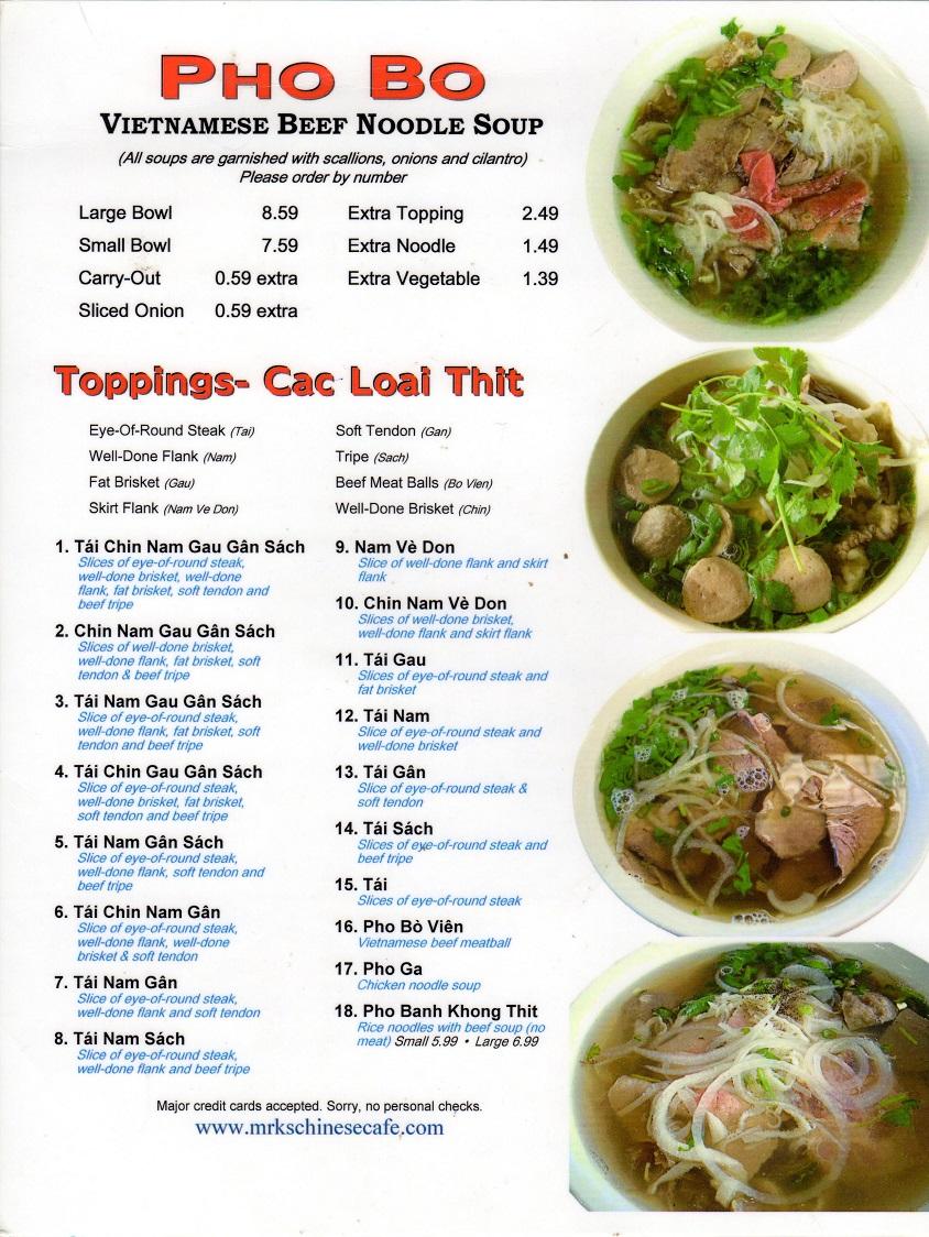 Pho Vietnamese Noodle Soup Beef